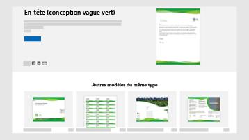 Modèles de document commercial sur templates.office.com