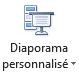 Le bouton de diaporama personnalisé