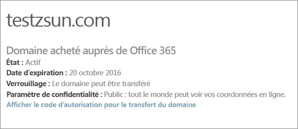 Transf rer votre domaine office 365 vers un autre bureau d - Transferer office 2010 sur un autre pc ...