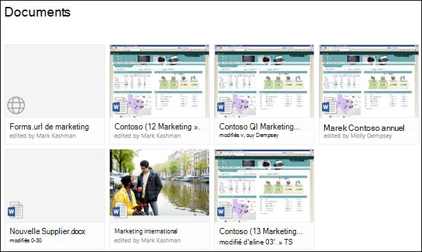 Ajouter un lien vers une bibliothèque de documents dans Office 365