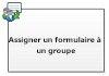 Assigner un formulaire à un groupe