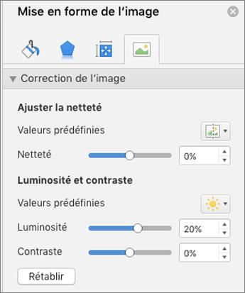 Modifier La Luminosite Le Contraste Ou Le Flou D Une Image Dans