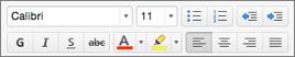 Bouton de mise en forme dans Outlook pour Mac