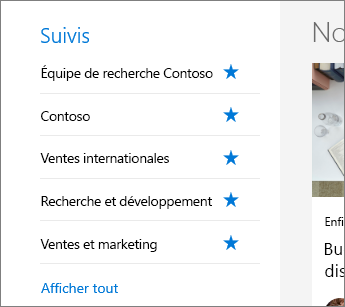 SharePoint - Office 365 - Suivi