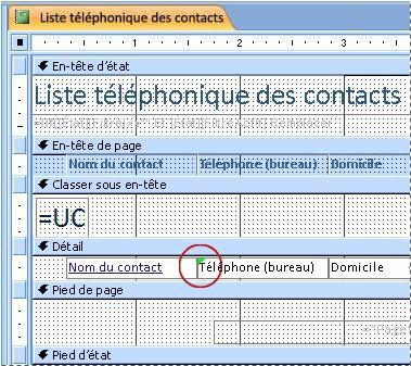 État contenant une zone de texte avec un identificateur mal orthographié