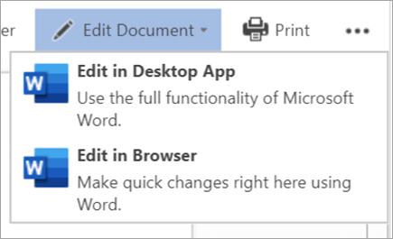 Modifier le document