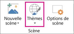 Option Thèmes dans Cartes3D