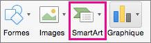 Organigramme - SmartArt