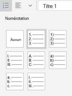 Courrier pour les options de liste triée dans Windows 10