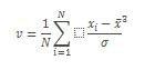 Équation COEFFICIENT.ASYMETRIE.P