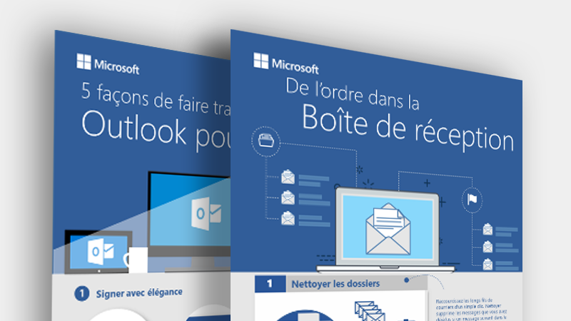 Télécharger ces infographies Outlook