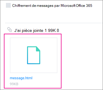 Visionneuse OME avec Yahoo mail sur Android 1
