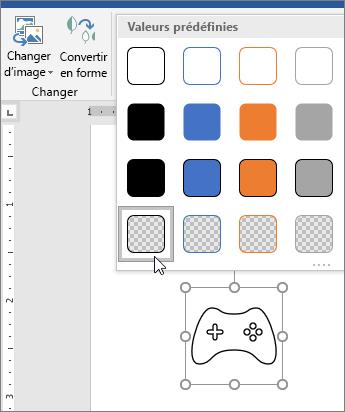 Style d'édition graphique d'une icône