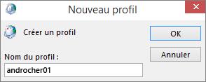 Nouveau profil de courrier Outlook défini pour isabelledeniger