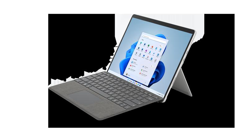 Rendu Surface Pro 8