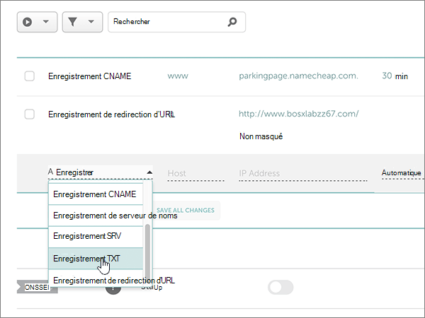 Namecheap-utilisation optimale-configurer-4-1