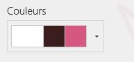 Modification des couleurs du site