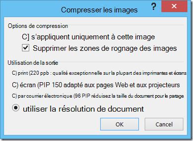 Compresser les images
