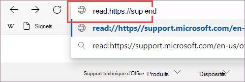 Ajoutez un préfixe à l'URL.