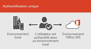 Avec l'authentification unique, le même compte est disponible sur les environnements local et en ligne.