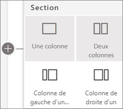 Dispositions de sections