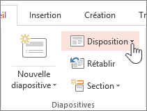 Bouton Disposition
