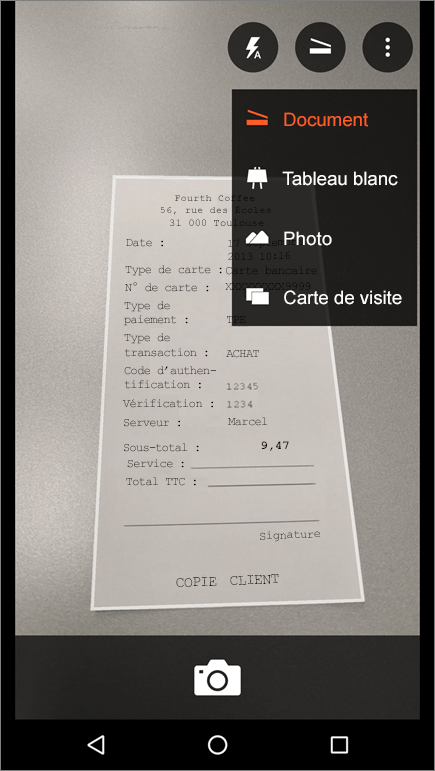 Office Lens Pour Android