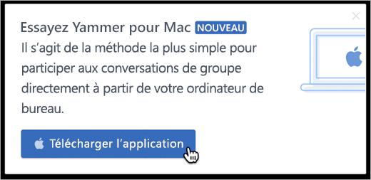 La messagerie produit pour Mac