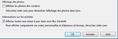 Ne pas afficher les photos