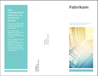 Modèle de brochure dans PowerPoint Online