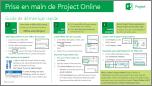 Guide de démarrage rapide Prise en main de ProjectOnline