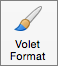 Bouton du volet Format