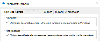 Pour désactiver toutes les notifications pour les fichiers OneDrive partagés, accédez aux paramètres de votre application OneDrive et désactivez-les.