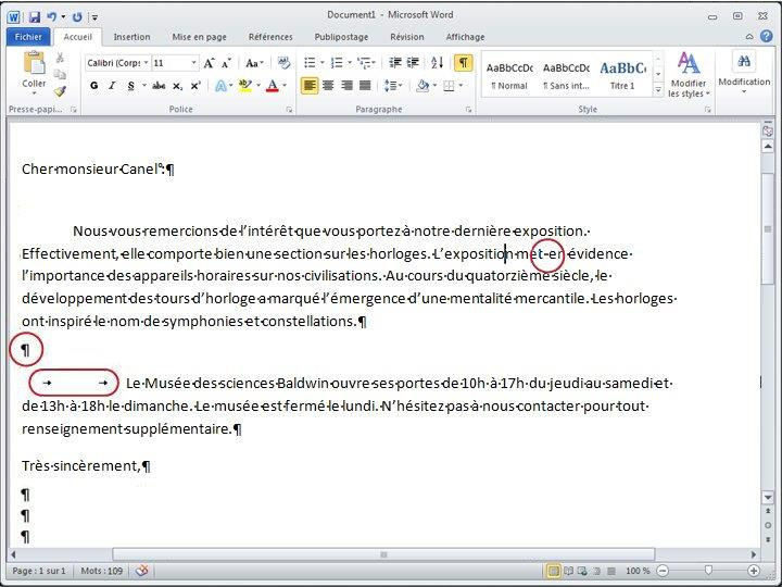 Document Word 2010