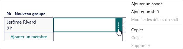 Cliquez sur le côté droit de la cellule pour afficher le bouton Plus.