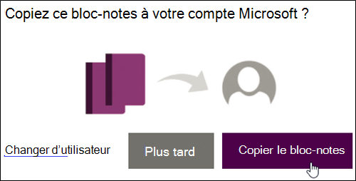 Copier un bloc-notes