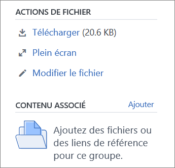 Modifier un fichier