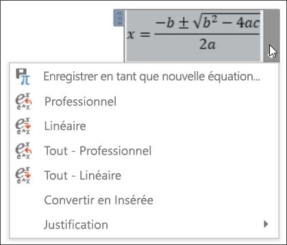 Équation toutes linéaire