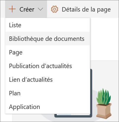 SPO - Ajouter une liste ou une bibliothèque