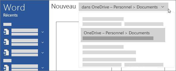 Nouveau OneDrive