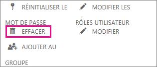 Supprimer un utilisateur dans Office365.