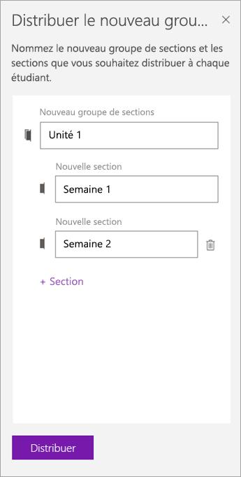 Tapez les noms des sections et groupes de sections.]
