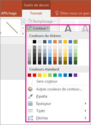 modifier la couleur de la ligne edittext android