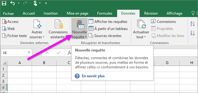 Obtenir et transformer dans excel 2016 excel - Comment obtenir un avocat commis d office ...