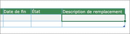 Capture d'écran de la création du diagramme du visualiseur de données dans Excel