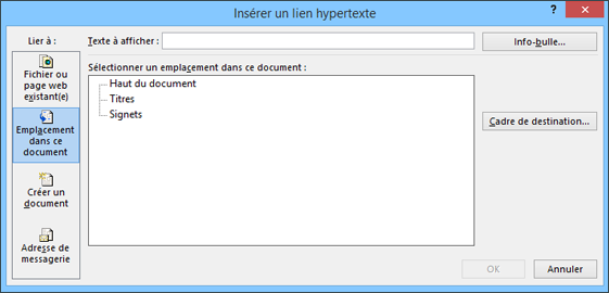 Creer Ou Modifier Un Lien Hypertexte Support Office