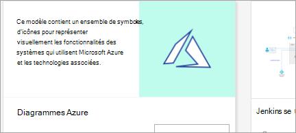 Modèle de diagramme Azure du diaporama