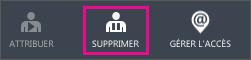 Bouton Supprimer dans Azure AD