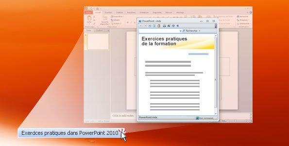 Exercices pratiques Powerpoint 2010