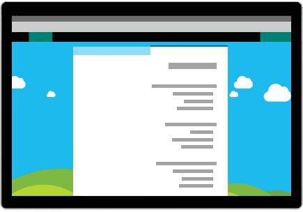 תמונה מושגית של Microsoft Forms